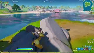 Fortnite Event Watch   Travis Scott Concert Event   Stage Being Built + Posters Around The Map.