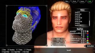 Skyrim HD: Male Character Creation with SAM - Bodymod and RaceMenu