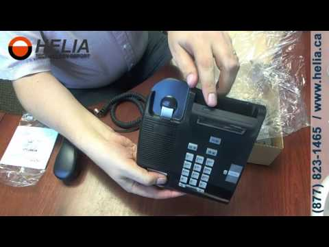 Unboxing the Nortel T7100 Office Desk Phone