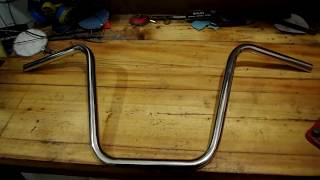 Руль для кастома. how to make handlebar for custom motorcycle