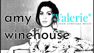 "In the Style of ""Valerie"" by Amy Winehouse Backing Track for Guitar Eb Major"