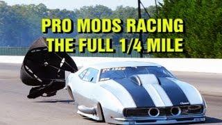 Super Charger Showdown Pro Mods Running Full 1/4 Mile
