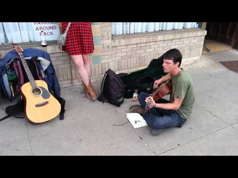 Must see this incredible Bradley McCollum Austin SoCo Street Performance of Revolution