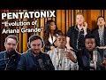 """Pentatonix - Evolution of Ariana Grande"" Singers REACTION"