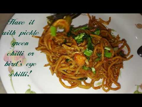 Mee Goreng Mudah & Sedap / Delicious & Simple Fried Yellow Noodles by Linda Hussin