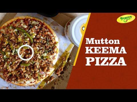 Mutton Keema Pizza Recipe | Pizza Homemade | YummyOne