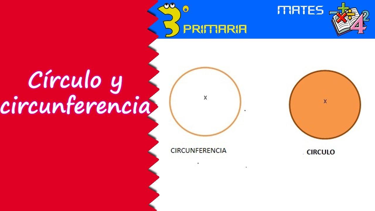 Matemáticas. 3º Primaria. Tema 10. Circunferencia y círculo