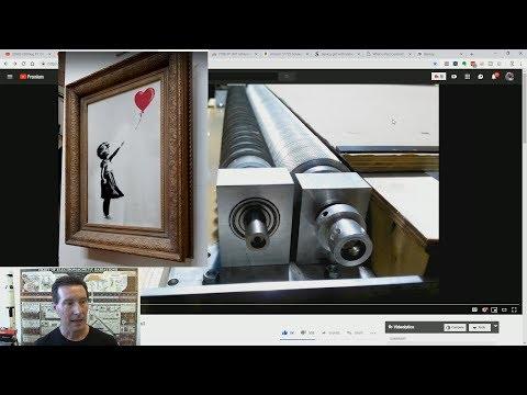 EEVblog #1136 - Banksy Artwork Shredder - Part 2 (Still Trolling!)