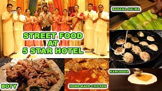 DELICIOUS Night street foods in 5 star Hotel-Ramada Plaza Guindy-Chennai to Kanyakumari Famous Foods