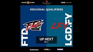 ForTheDream vs LGD.FY Game 1 | The International 8 China Qualifiers Losers' Round 1