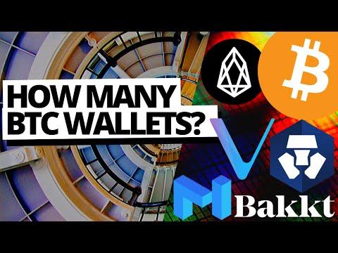 BITCOIN WALLETS REACH ATH! Bakkt Bitcoin Cash Futures? CRYPTO.COM EOS Promo | Matic Crash | Vechain