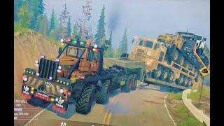 Spintires MudRunner - Heavy Overload  Trailer Loader Transport
