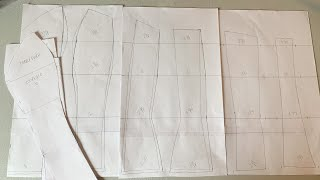 How To Grade Up A Corset Pattern | MOM THAT SEWS