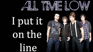 Return The Favor - All time low (Lyrics on screen)