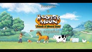 Harvest Moon Friends of Mineral Town (Reseña en Español)