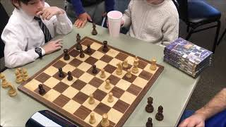 7 Year Old Golan vs. US Chess Champion GM Sam Shankland