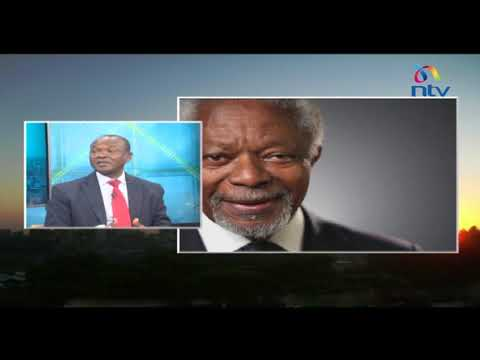 Remembering Kofi Annan, the man who saved Kenya from a crisis in 2007/08