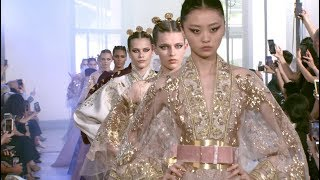 ELIE SAAB Haute Couture Autumn Winter 2019-20 Fashion Show