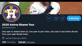 2020 Astros Shame Tour Interview