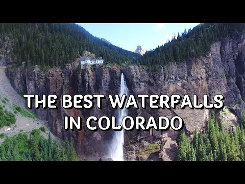 Video The most beautiful waterfalls  in Colorado (the best of Colorado)