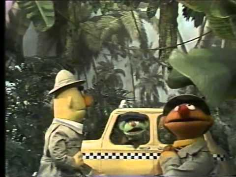 Classic Sesame Street - Ernie and Bert at the jungle