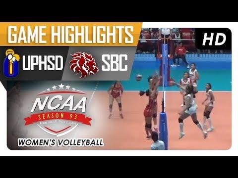 NCAA 93 WV: SBC vs. UPH | Game Highlights | January 11, 2018
