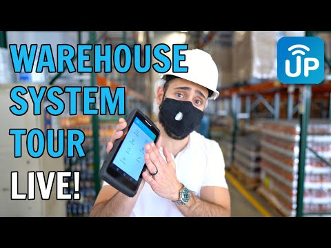 Live Tour of a Real Warehouse Management System | LaceUp WMS