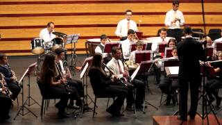 "La Banda Juvenil De La Sociedad Filarmónica Nivaria Interpreta ""The Delta Force Theme"""
