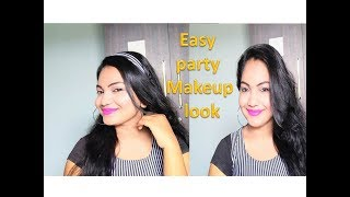 ESAY PARTY MAKEUP LOOK  2019 || GLAM MAKEUP LOOK || GLOW MAKEUP || Glow Gossip
