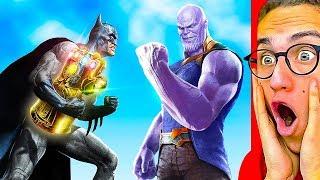 Reacting To THE GREATEST MARVEL vs. DC SUPERHERO ANIMATION!
