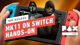 Mortal Kombat 11 on Nintendo Switch - Gameplay Reaction