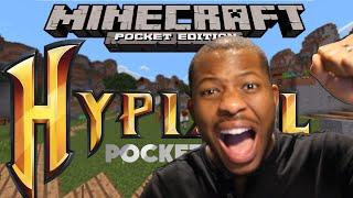 Minecraft Pocket Edition - HYPIXEL SERVER! - EPIC Hunger Games!
