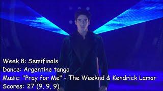 Milo Manheim - Dancing With The Stars Performances