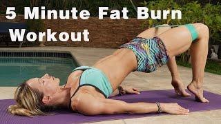 5 Minute Fat Burn Workout #120 - Power Band by Zuzka Light