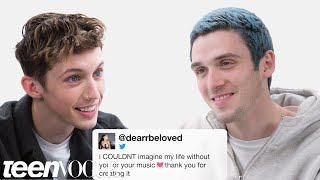 Troye Sivan and Lauv Compete in a Compliment Battle | Teen Vogue