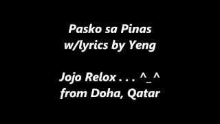 Yeng Costantino - Pasko sa Pinas w/lyrics.wmv