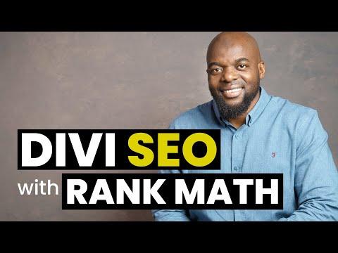 Divi Theme SEO with Rank Math
