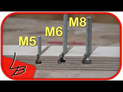 T Nutfräser oder T Nut Schiene? 🤔  Die neuen M5/6/8 Fräser von ENT sind da!