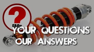 When Should I Replace The Shock Absorbers / Springs?
