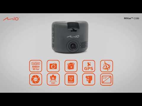 MIO MiVue C330 видеорегистратор