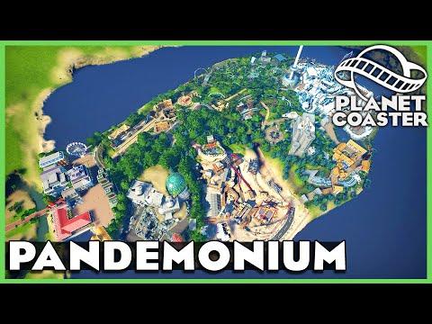 Pandemonium: Island of Curiosities! Planet Coaster: Park Spotlight 197