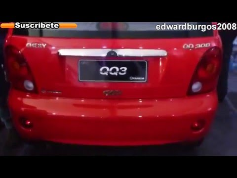 chery qq3 2012 2013 colombia brasil mexico Argentina video de carros auto show FULL HD