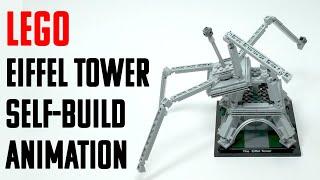 LEGO EIFFEL TOWER - BUILD ANIMATION
