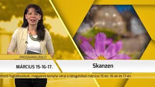 Programajánló / TV Szentendre / 2019.02.28.