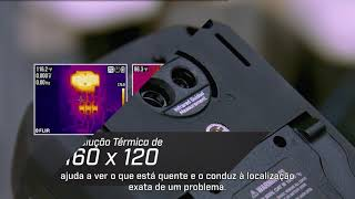 Multímetro Digital de Imagens Térmicas FLIR DM166 com True RMS