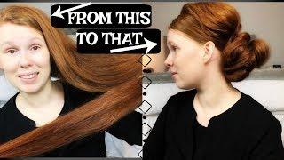 MY EVERYDAY UP-DO// VERY LONG THICK HAIR TUTORIAL// APOSTOLIC