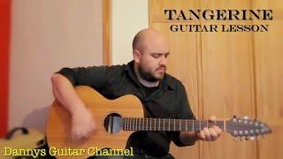 Tangerine - Led Zeppelin - Guitar Lesson - (Breedlove Atlas 12 string guitar)