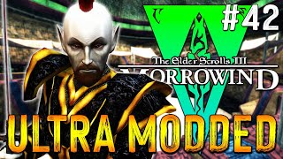 Lets Play Morrowind Modded 2021 - 400 MODS - Fight For Hortator