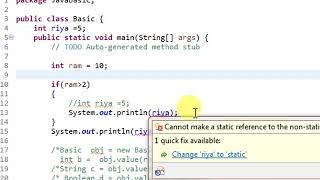 24. Global Variable in Java (HINDI/URDU)
