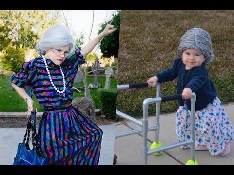 Disfraces de abuelita para niños